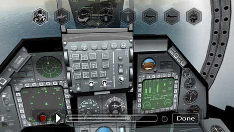 لعبة F18 Pilot Simulator محاكي طائرات