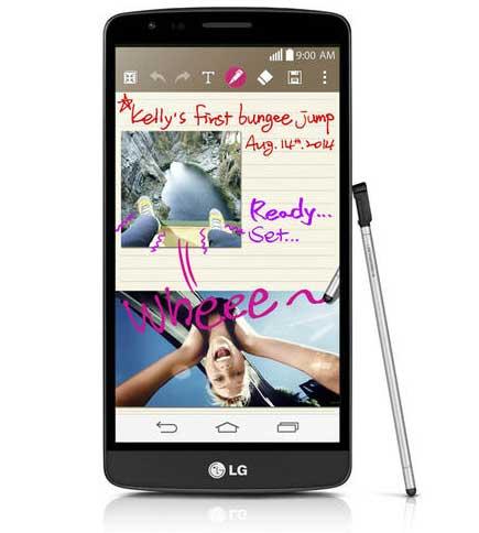 LG تكشف رسمياً عن هاتف LG G3 Stylus !