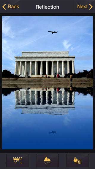 تطبيق Reflection لإضافة الظل المائي للصور