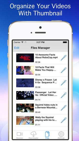 تطبيق iDownloader Pro لتحميل الفيديو للأيفون