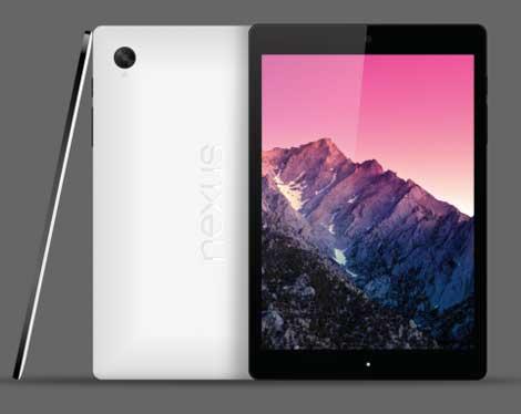 الجهاز اللوحي HTC Nexus 8 سيأتي بمواصفات مرتفعة ! [تسريبات]
