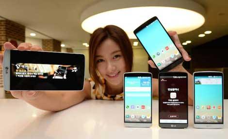 شركة LG تكشف عن هاتفها الجديد LG G3 A