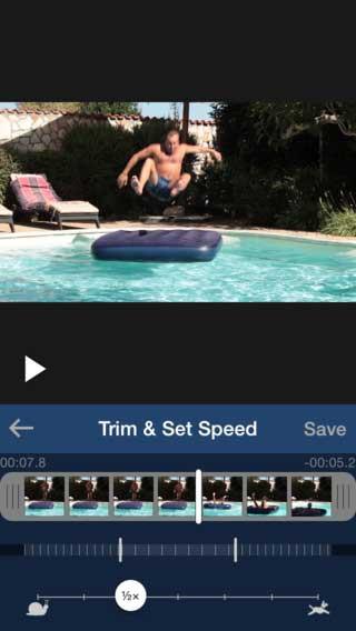تطبيق SuperSlo Slow Motion التصوير البطيء