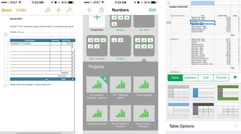 تطبيقات آبل البديلة لخدمة الأوفيس على الأيفون والآيباد