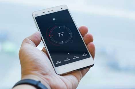 هاتف Mi 4 المقلد لجهاز الأيفون ونظام iOS