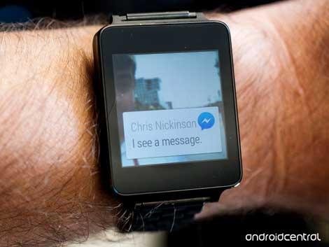تحديث تطبيق Facebook Messenger لدعم ساعات أندرويد وير