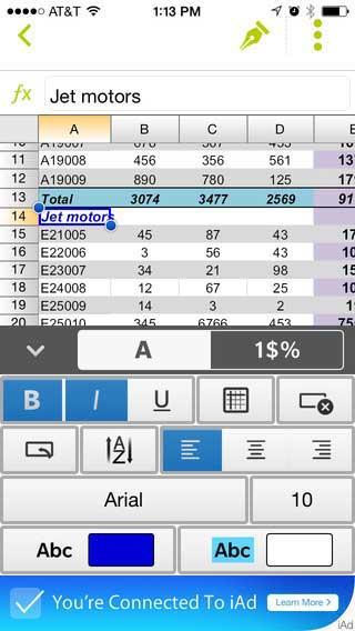 تطبيق Documents To Go لتشغيل ملفات الأوفيس