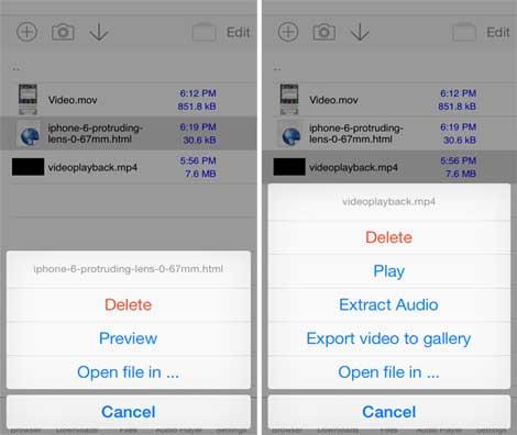 أداة Media Downloader لتحميل الملفات
