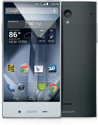 جهاز Sharp Aquos Crystal