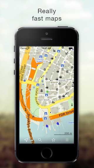 تطبيق MAPS.ME