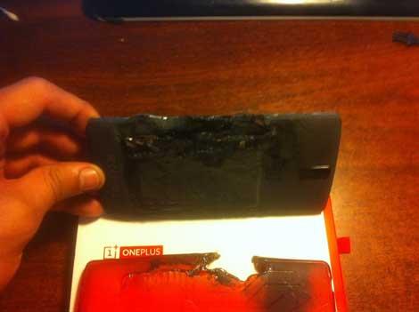 انفجار جهاز OnePlus One