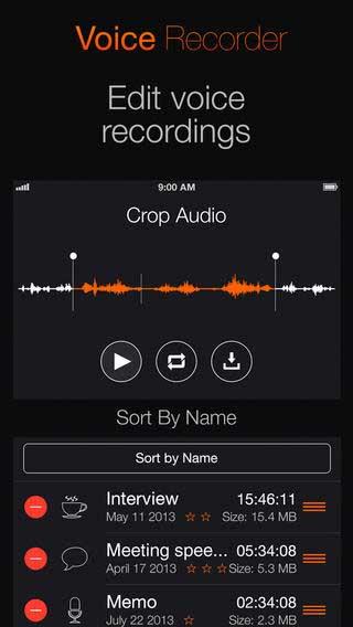 تطبيق Voice Recorder PRО يحول صوتك إلى نص