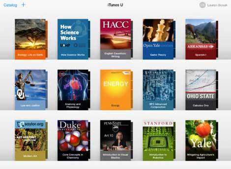 تطبيق iTunes U مصدرك للدروس والمحاضرات المفيدة !
