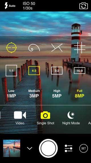 تطبيق ProCam 2 الاحترافي لتحرير الصور للأيفون