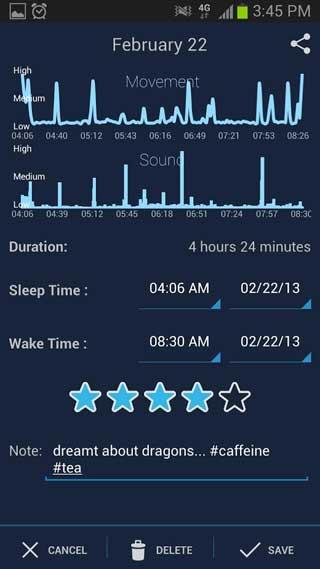 تطبيق SleepBot لتحليل نومك ولنوم مفيد وصحي