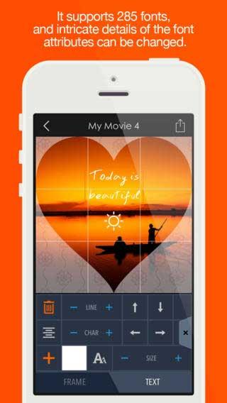تطبيق Pics2Mov Pro لتحويل صورك إلى فيديو