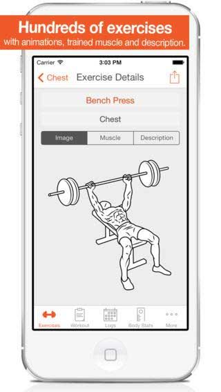 تطبيق Fitness Point Pro دليلك لبناء عضلاتك للأيفون