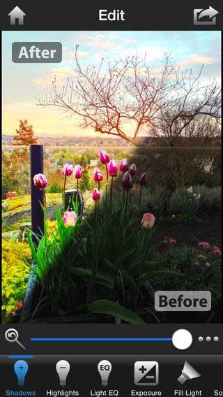 تطبيق Instaflash Pro محرر صور احترافي
