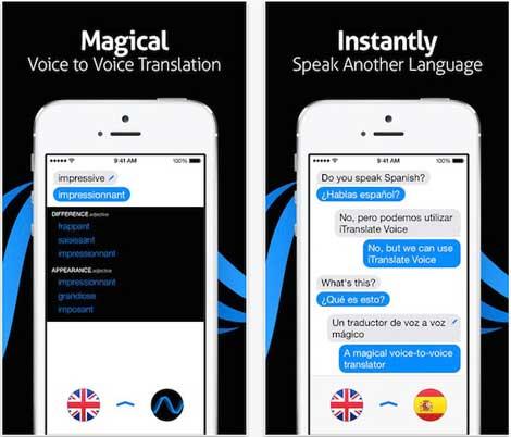 تطبيق iTranslate Voice مترجم صوتي احترافي - للأيفون والآيباد