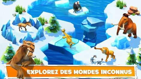 لعبة Ice Age Adventures للأندرويد