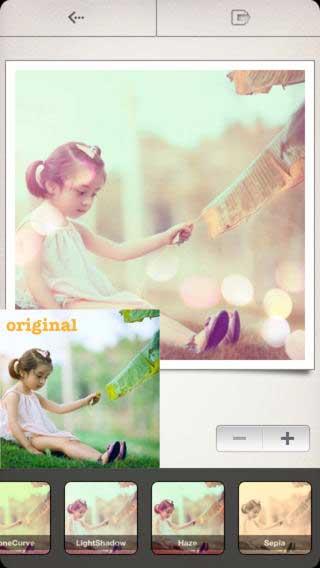 تطبيق InstaFilterZilla لتحرير الصور مع 100 فلتر