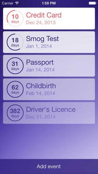 تطبيق Expires لمعرفة متى تنتهي صلاحية حاجاتك