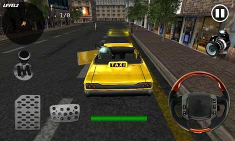 لعبة Taxi Simulator 3D للأندرويد