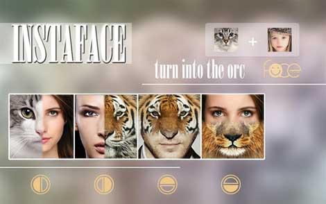 تطبيق InstaFace:face eyes morph للأندرويد