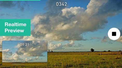 تطبيق Time Lapse! للتصوير البطيء للأيفون