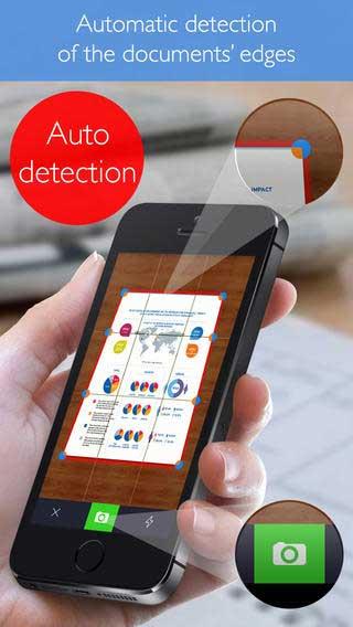 تطبيق Scanner Pro لتحويل الأيفون ماسح ضوئي