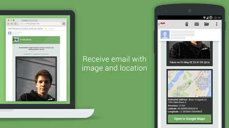 تطبيق CrookCatcher - Anti Theft للتحكم في الهاتف عند السرقة