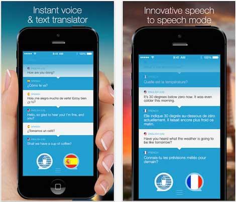 تطبيق Speak & Translate مترجم كتابي وصوتي احترافي
