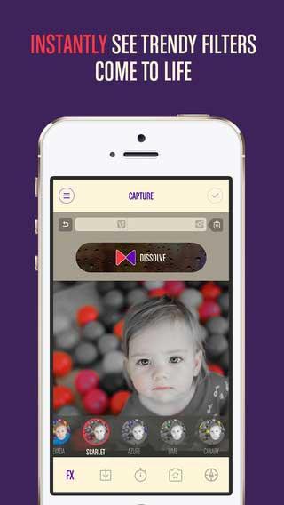 تطبيق Vlur الاحترافي لتحرير الفيديو