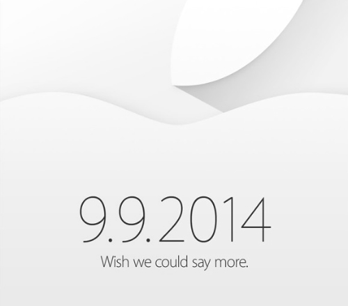 رسمياً : الإعلان عن هاتف الآيفون 6 في التاسع من سبتمبر !