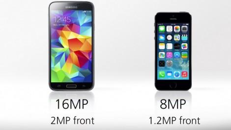 [ مقارنة شاملة ] : هاتف iPhone 5s ضد Galaxy S5 : الكاميرا