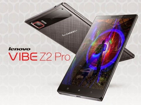 الإعلان رسمياً عن هاتف Lenovo Vibe Z2 Pro بشاشة بدقة Quad HD !