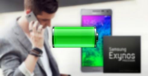 اختبار البطارية : كم تدوم بطارية هاتف Samsung Galaxy Alpha الجديد ؟!