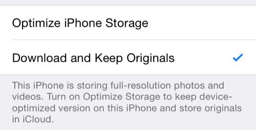 النسخة التجريبية الخامسة iOS 8 Beta 5 : تطبيق الصور