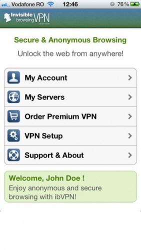 تطبيق ibVPN - تصفح الإنترنت في الخفاء !