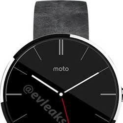 صور مسربة لجهاز Moto 360 يؤكد التصميم الدائري المميز