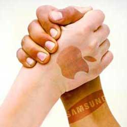 صورة سلام عليكم – آبل وسامسونج تتفقان على إنهاء الصراع القضائي بينهما !