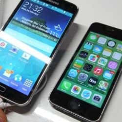 مقارنة شاملة: جهاز الايفون 5s ضد الجالكسي S5 !