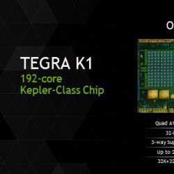 Photo of شركة Nvidia تعلن عن معالج Tegra K1 بمعمارية 64 بت لأجهزة الأندرويد !
