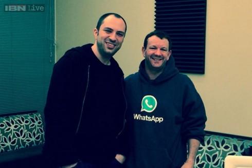 """""""برين أكتون"""" و """"جان كوم"""" مؤسسا تطبيق واتس آب WhatsApp !"""