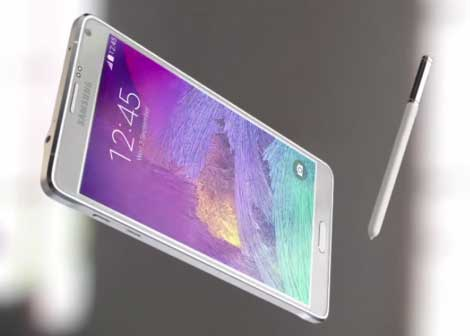 سامسونج تبدأ بإطلاق هاتف Galaxy Note 4 في الأسواق العالمية
