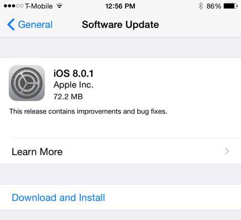 الإصدار 8.0.1 متاح للتحميل