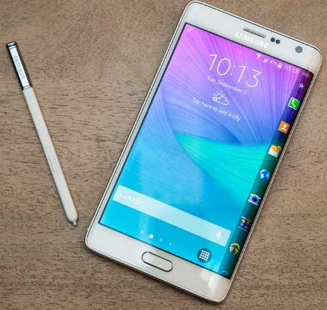 هاتف Galaxy Note Edge ذو الشاشة المنحنية سيتم إطلاقه العام المقبل !