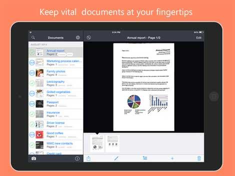 تطبيق FineScanner لحفظ صور pdf لأوراقك
