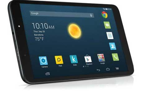 الإعلان عن الجهاز اللوحي Alcatel OneTouch Hero 8 بشاشة 8 إنش !