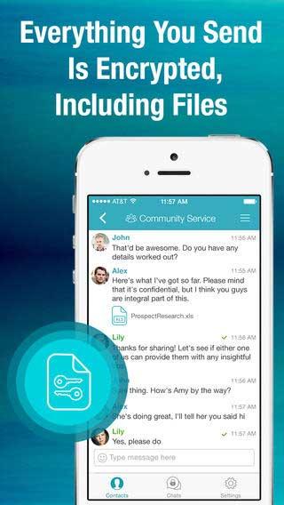 تطبيق Sicher للمحادثات الأمنة والدردشة المشفر